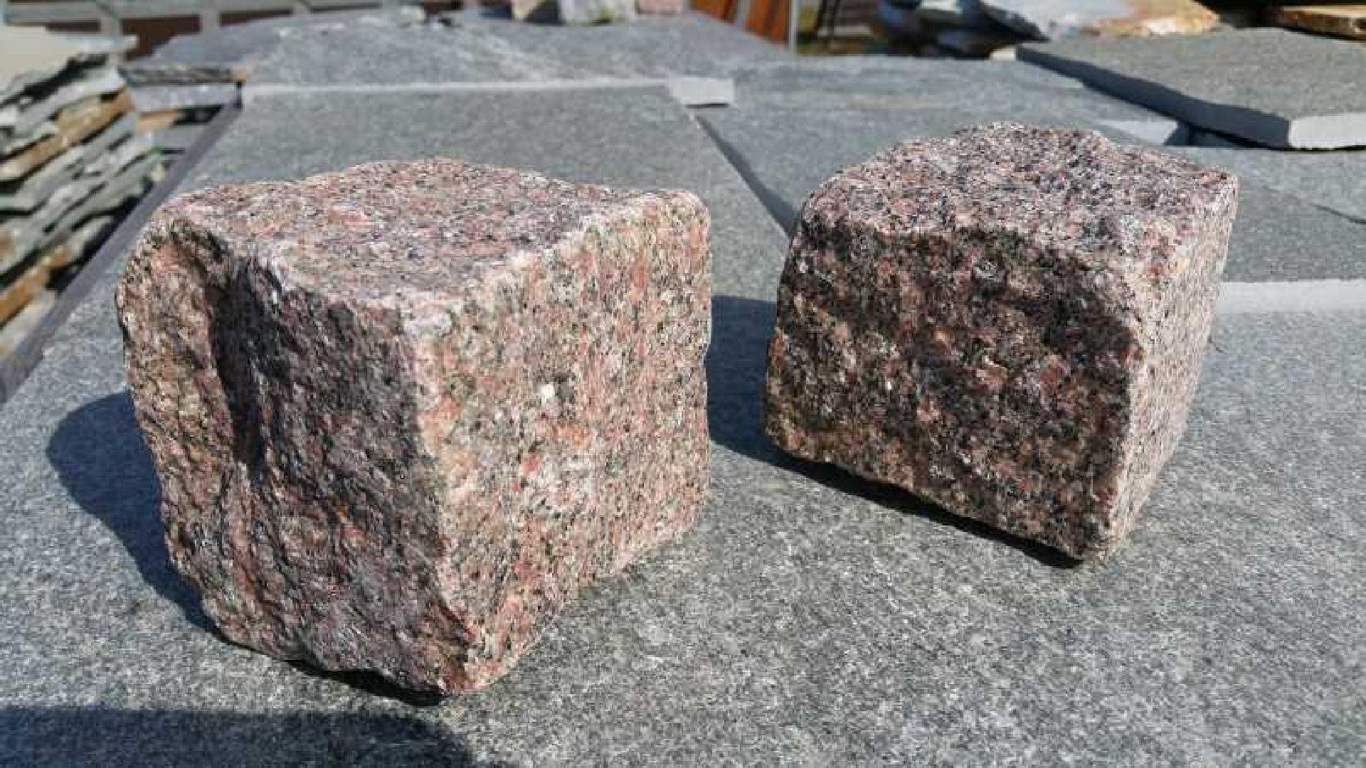 Naturstein Pflaster Bohus - Rot