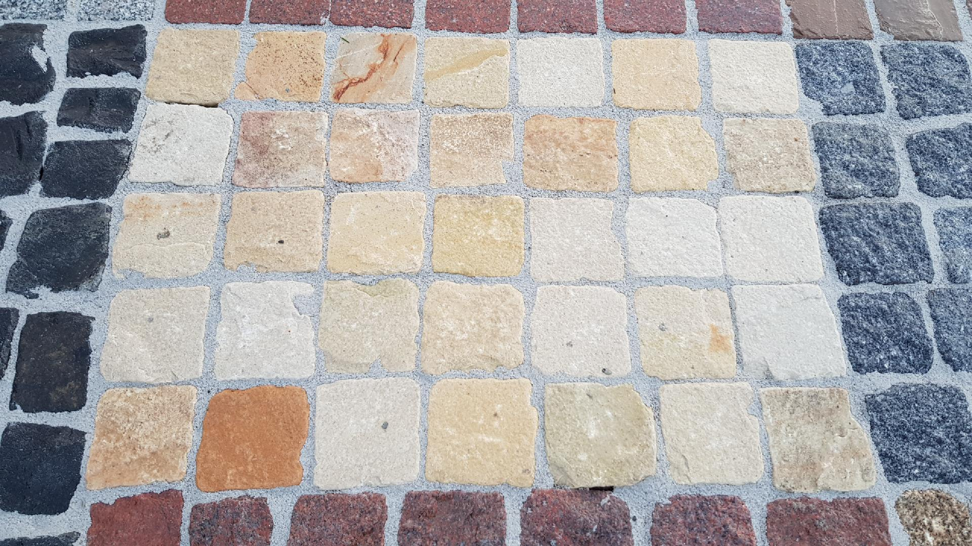 Naturstein Pflaster Mint - Gelblich