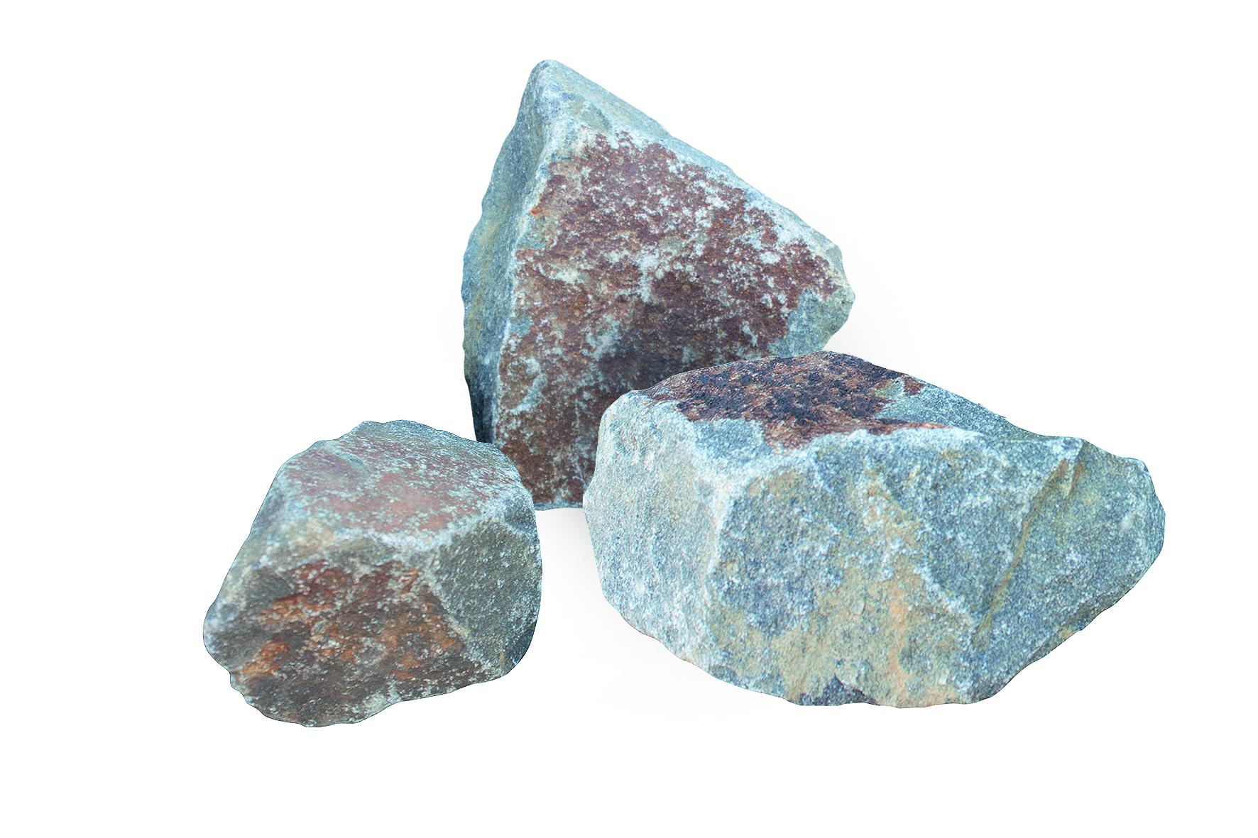 Wasserbausteine grau-blau