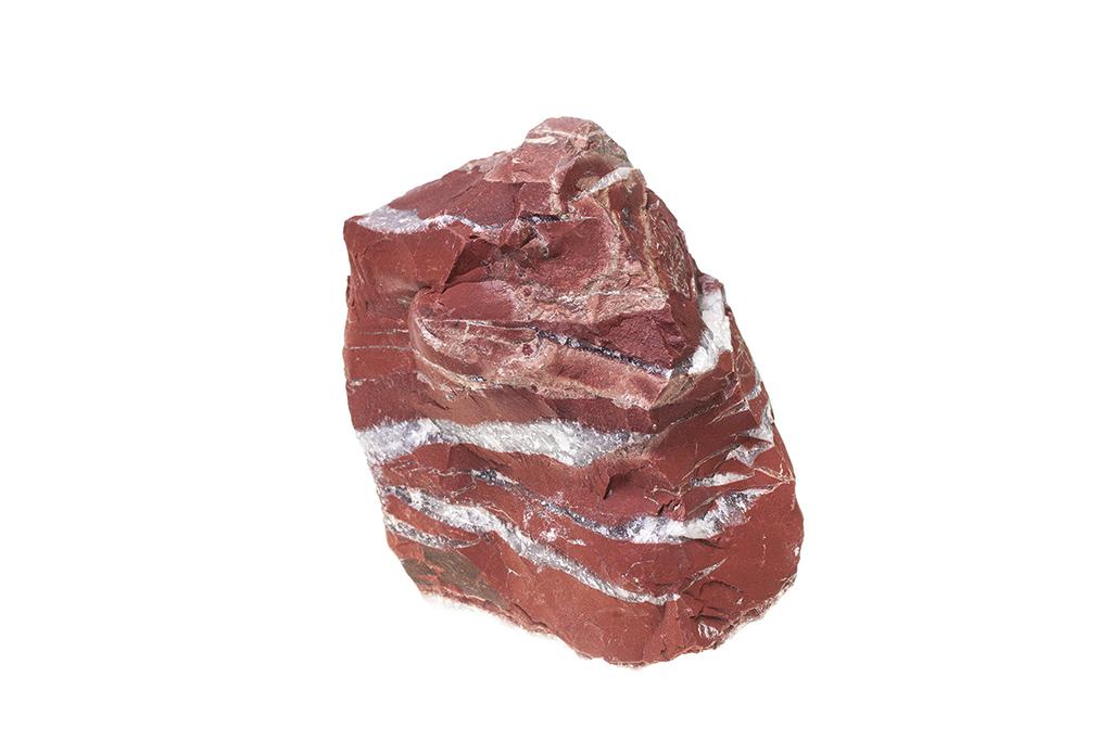 Red Jaspis Findlinge