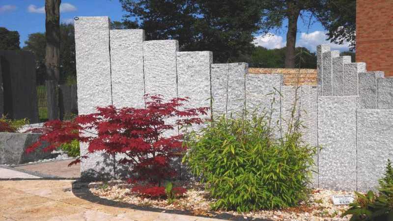 Stelen Grau - Granit 25x10x50-210 cm