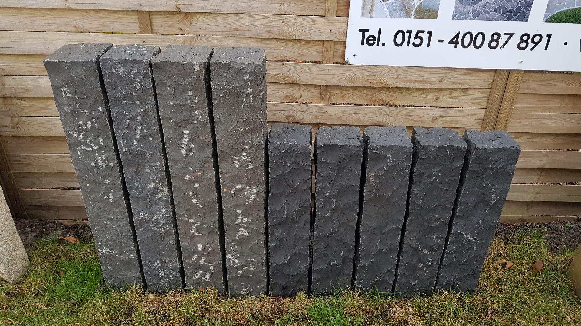 Palisaden Basalt - Schwarz