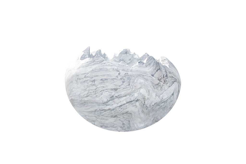 Broken Egg, new wave marble