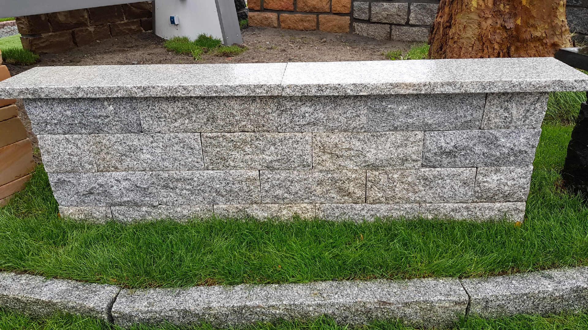 Mauersteine Callicia - Hell Grau - Granit