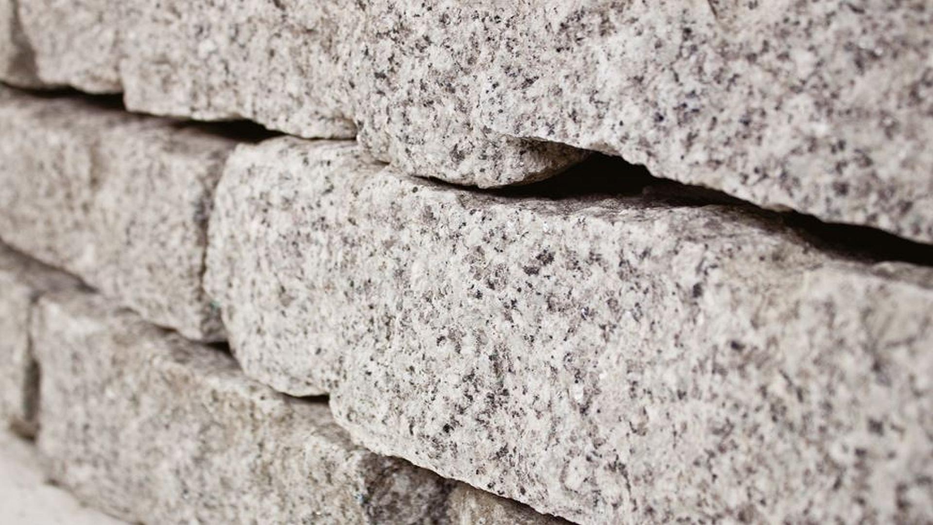 Granit Mauersteine, 10-20-40