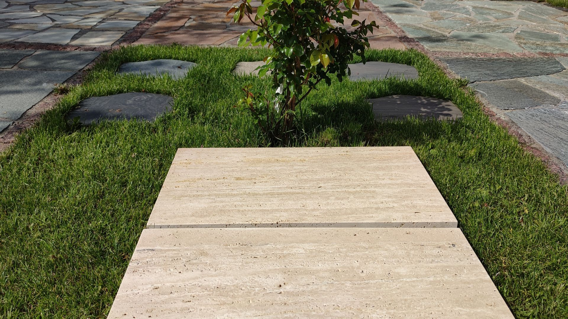 Travertinplatten VANILLA ROMANA