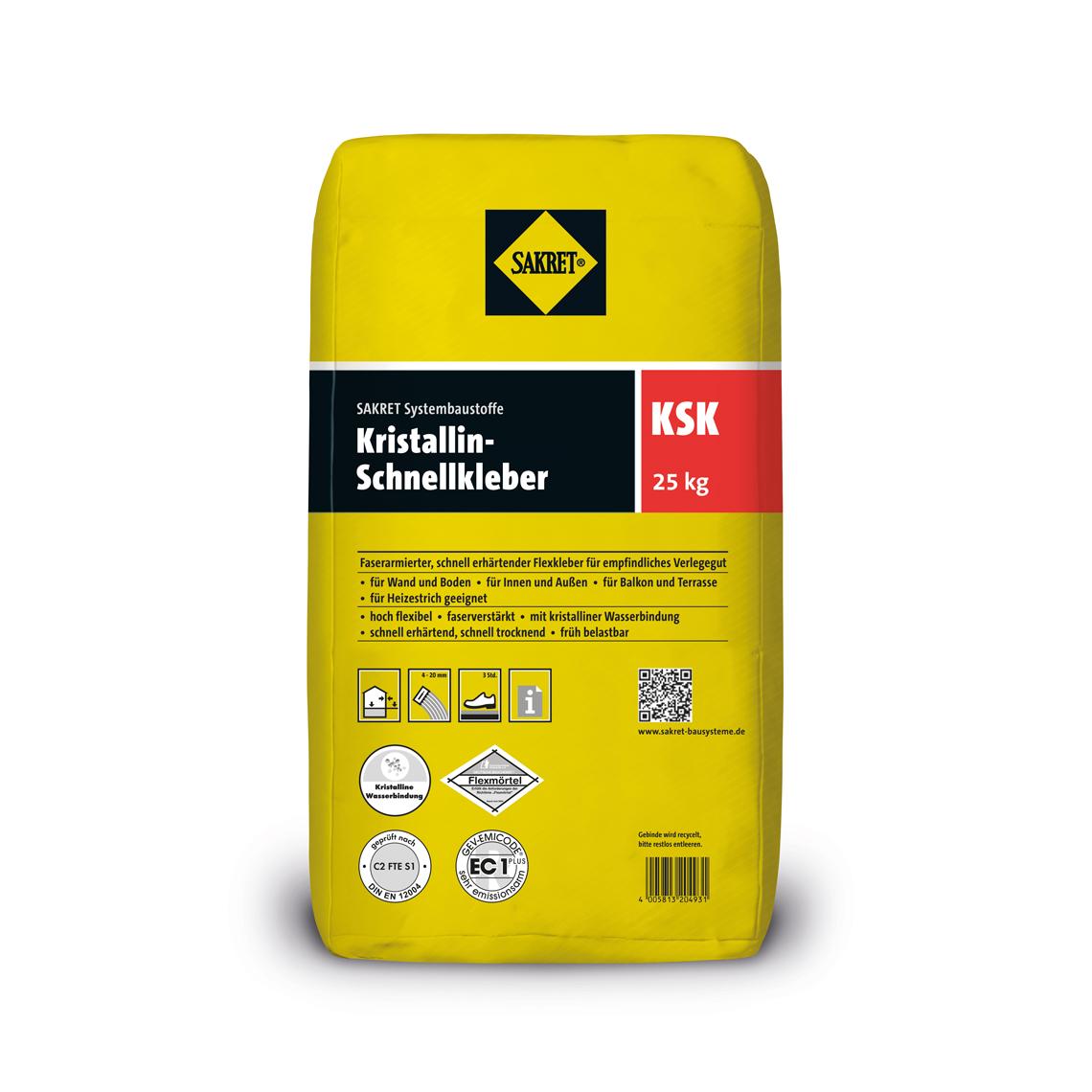 SAKRET Kristallin-Schnellkleber KSK