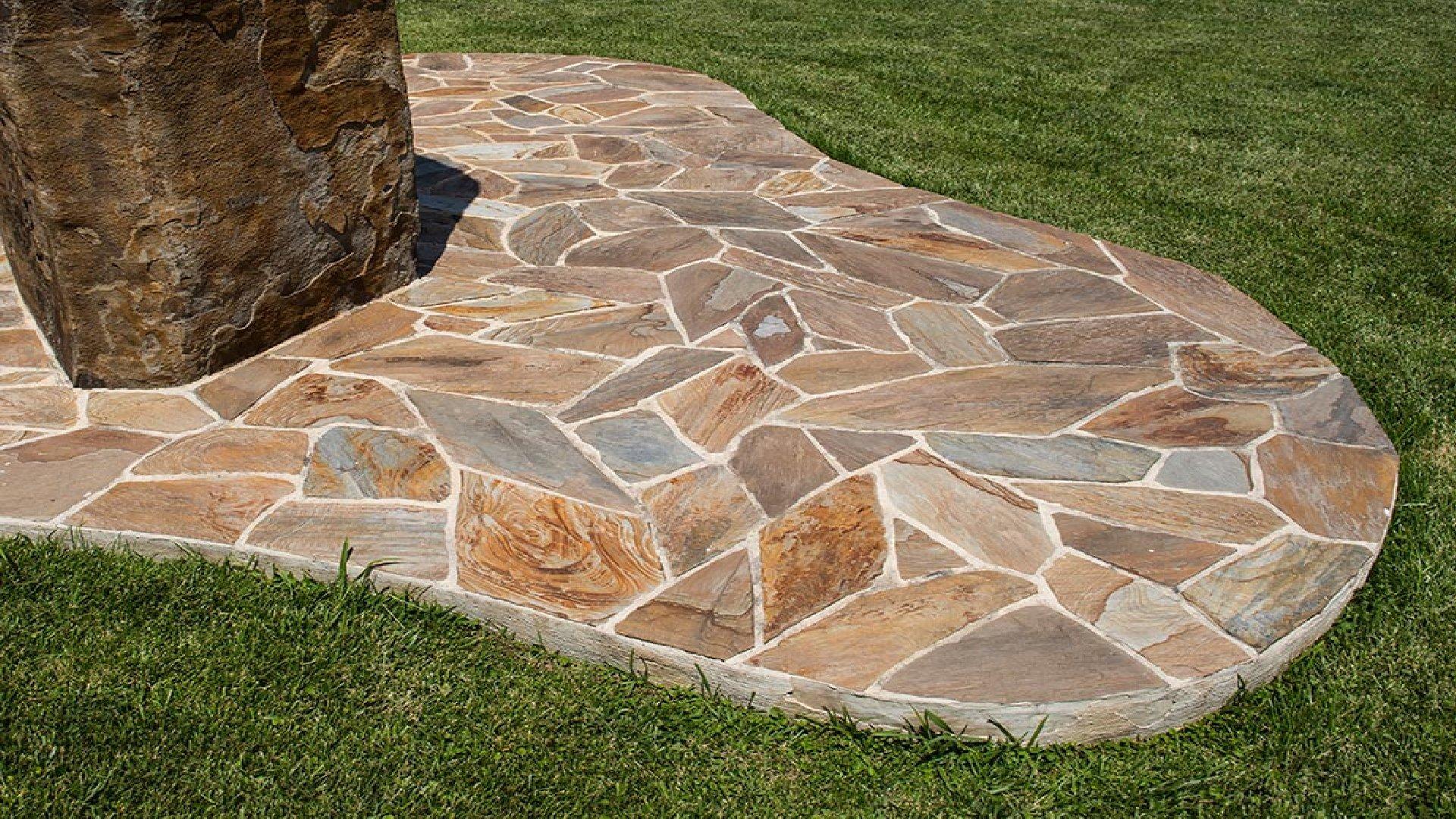 Polygonalplatten Woodstone