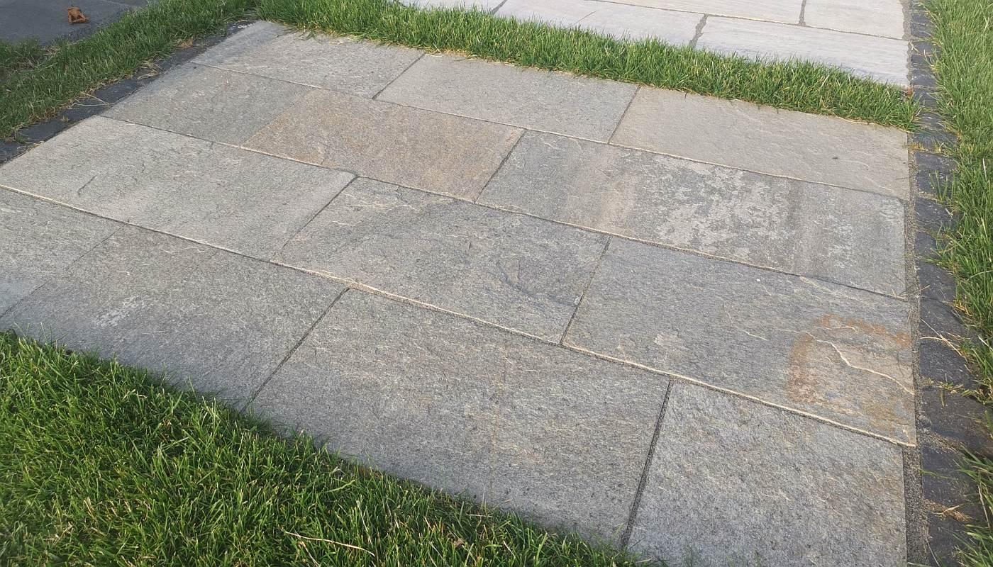Quarzitplatten Kavala Beige Grau