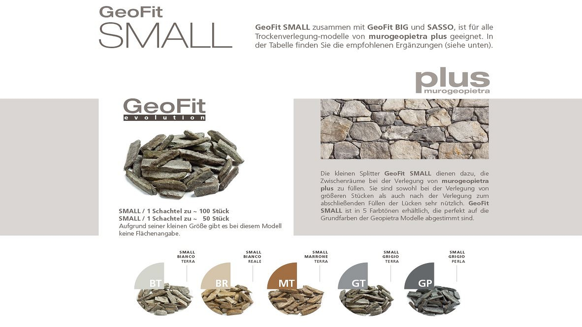 GEOPIETRA - Splitter GeoFit - SMALL