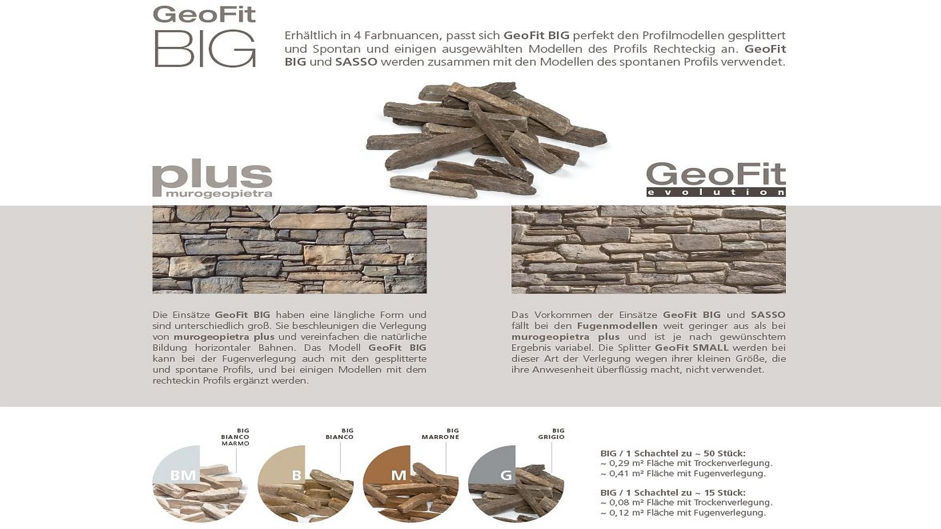 GEOPIETRA - Splitter GeoFit - BIG