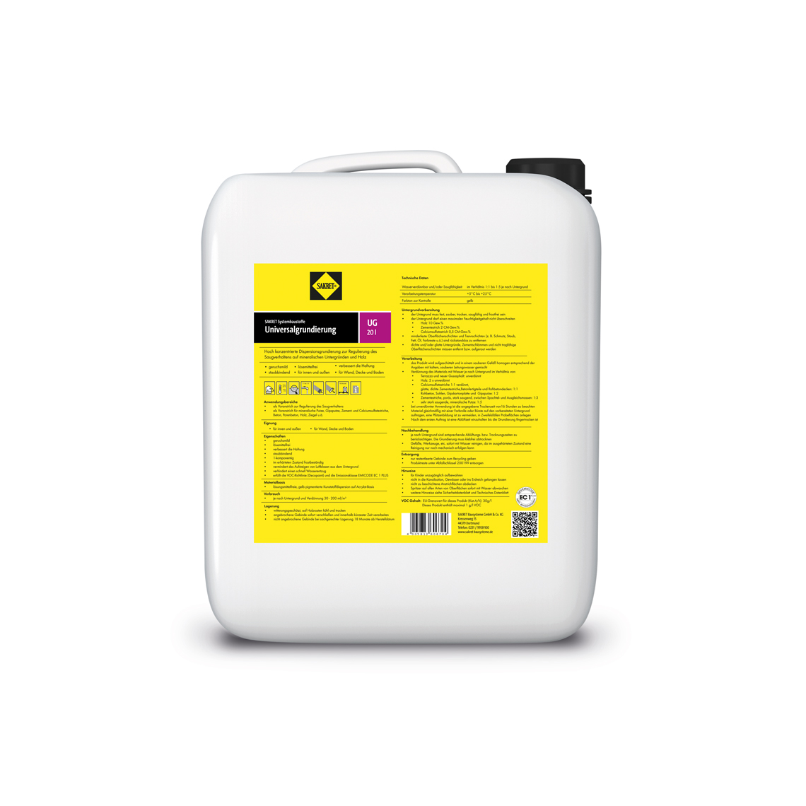 SAKRET Universalgrundierung UG- 5 Liter