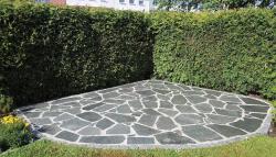 Polygonalplatten Kavala Grau - A
