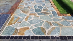 Polygonalplatten Karistou Green - A