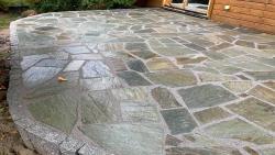 Polygonalplatten Pilio Grün - B