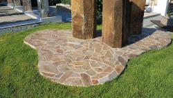 Polygonalplatten Woodstone - L