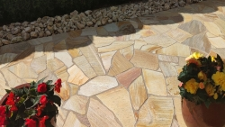 Polygonalplatten Sahara - B
