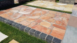 Polygonalplatten Lava - A