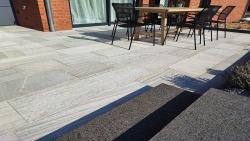 Quarzitplatten Anden White 60 x 40 x 2,5 - 4 cm