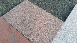 Granitplatten Björkeberg 60 x 40 x 3 cm