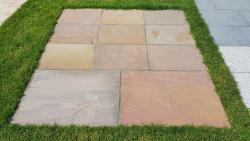 Sandsteinplatten Desert HB - 90 x 60 x 2,5 cm