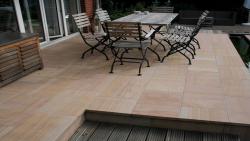 Sandsteinplatten Desert Premium 80 x 80 x 3 cm