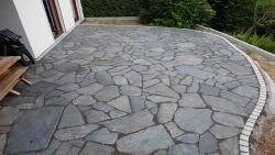 Polygonalplatten Karistou Anthrazit - D