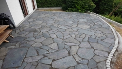 Polygonalplatten Karistou Anthrazit - S