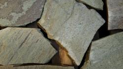 Polygonalplatten Pilio Grün - A