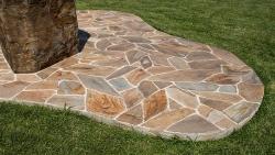 Polygonalplatten Woodstone - M