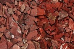 Red Jaspis Splitt, 10-30, Muster