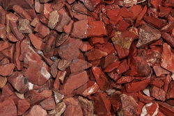 Red Jaspis Splitt, 10-30, Big Bag 250 kg