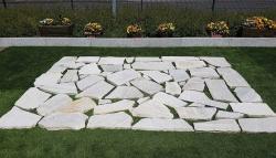 Polygonalplatten  Anden White - A