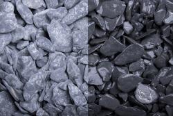 Canadian Slate schwarz getrommelt, 15-30, Big Bag 1000 kg