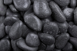 Glanzkies schwarz , 10-35, Sack 20 kg