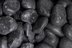 Glanzkies schwarz, 35-60, Sack 20 kg