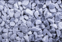 Kristall Blau getrommelt, 25-40, Big Bag 500 kg