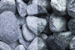 Kristall Grün getrommelt, 40-60, Big Bag 750 kg