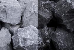 Basalt Stein SS, 30-60, Sack 20 kg
