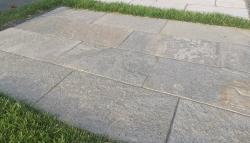 Quarzitplatten Kavala Beige Grau - 30 S