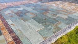 Quarzitplatten Karistou Grün - 40 L