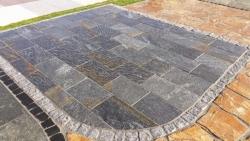 Quarzitplatten Karistou Black - 40 L