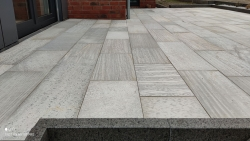Quarzitplatten Anden White - A