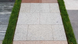Granitplatten TAN - 40 x 40 x 3 cm