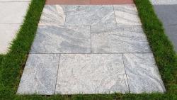 Granitplatten Juparana Grey - 60 x 40 x 3 cm