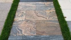 Granitplatten Juparana Rot - 60 x 40 x 3 cm
