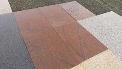 Granitplatten Magadi Rot - 60 x 40 x 3 cm