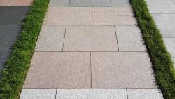 Granitplatten Bovall Rot - 60 x 40 x 3 cm