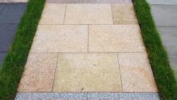 Granitplatten Moreno Gelb - 60 x 40 x 3 cm