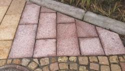 Grustenplatten - Magadi Rot 60x30x7-9 cm